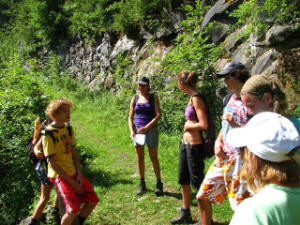 Hiking with children from 8 years