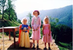 Prinsesjes in de bergen