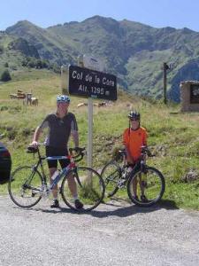 fietsen in de pyreneeen